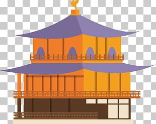 Japanese Architecture Illustration PNG