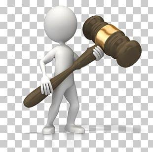 Judge Court Dress Gavel Law PNG