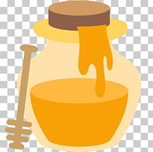 Emoji Honey Food PNG