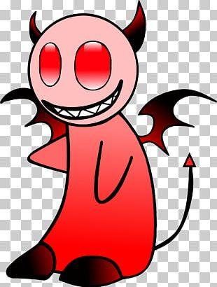 Devil Angel Sticker PNG