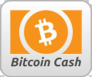 Bitcoin Cash Bitcoin Core Cryptocurrency Blockchain PNG