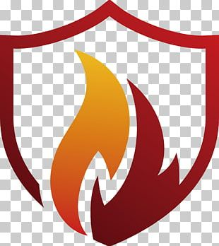 Flame Shield PNG