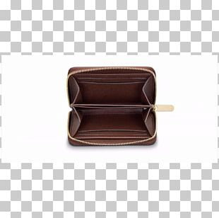 Coin Purse Wallet ダミエ Leather PNG