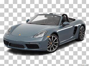 Sports Car 2018 Porsche 718 Boxster Porsche Boxster/Cayman PNG
