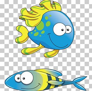 Fish Sticker Sea Coral Reef Child PNG