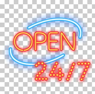 Light Neon Sign PNG