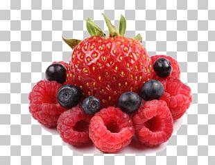 Frutti Di Bosco Raspberry Blueberry Strawberry Fruit Salad PNG