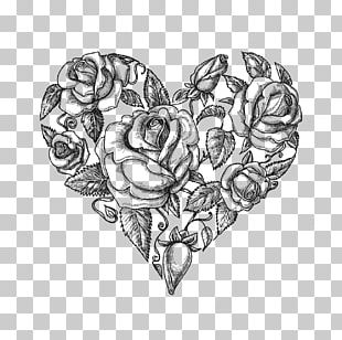 Heart Drawing Vintage Clothing PNG