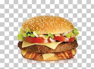 Big N' Tasty Hamburger Bacon Fast Food Cheeseburger PNG