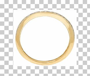 Wedding Ring Bangle Colored Gold PNG