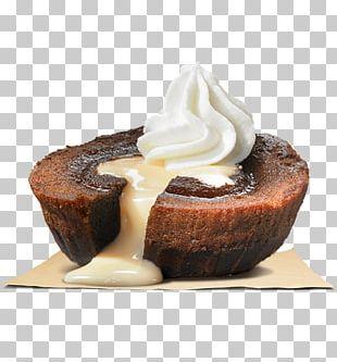 Chocolate Brownie Blondie Hamburger Ice Cream Sundae PNG