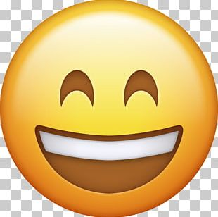 Emoji Smiley Happiness IPhone Emoticon PNG