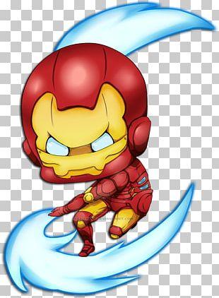 Iron Man Thor Drawing Chibi Superhero PNG