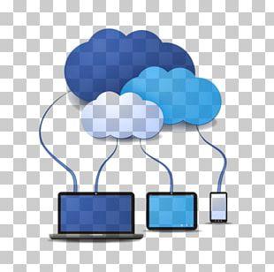 Cloud Computing Cloud Storage Internet Computer Servers Technology PNG