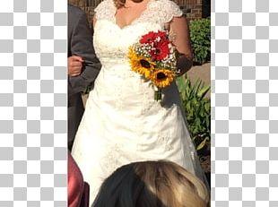 Wedding Dress Flower Bouquet Bride Marriage PNG