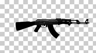 AK-47 Weapon Assault Rifle PNG