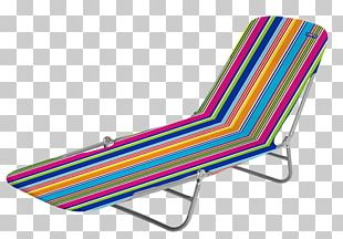 Vintage Beach Lounge Chair PNG