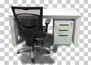 Desk Table Furniture Office Chair PNG