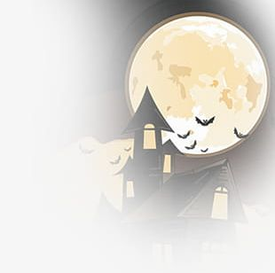 Halloween Background Elements PNG
