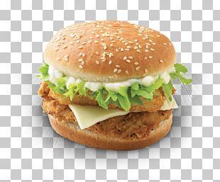 Hamburger KFC Chicken Sandwich Fried Chicken Barbecue Chicken PNG