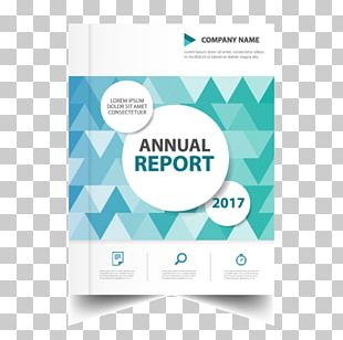 Annual Report Advertising Flyer PNG