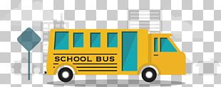 School Bus Yellow PNG