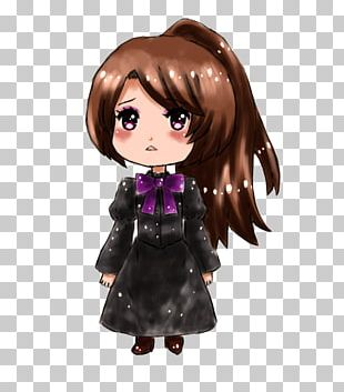 Brown Hair Doll Character Fiction PNG