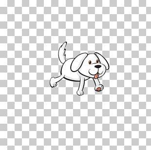 French Bulldog Cartoon Illustration PNG