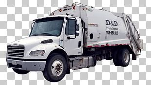 D & D Trash Services Waste Collection Garbage Truck Rubbish Bins & Waste Paper Baskets PNG