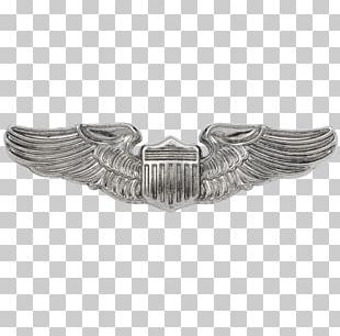 Second World War United States Aviator Badge 0506147919 United States Army Air Forces PNG