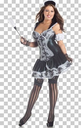 Halloween Costume Party City French Maid Dress PNG