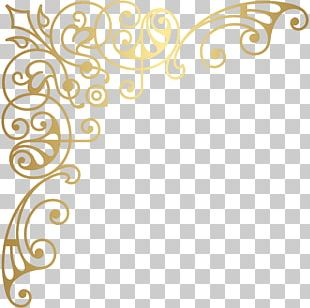 Gold Decorative Arts PNG