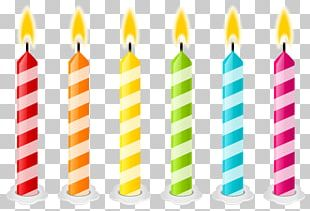 Birthday Cake Candle PNG