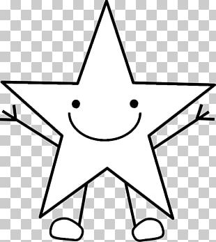 Coloring Book Star Page Yellow PNG