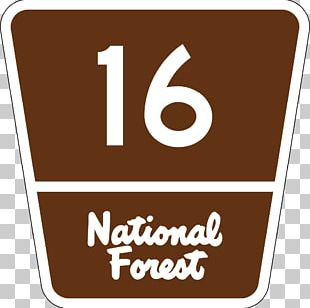 Forest Highway United States National Forest Highway Shield Road PNG