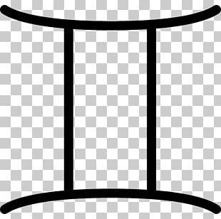 Gemini Zodiac Symbol Icon PNG