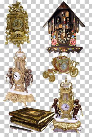 Carriage Clock Antique Alarm Clocks Mantel Clock PNG