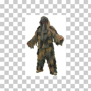 Military Camouflage Ghillie Suits Jacket PNG