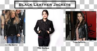 Blazer Leather Jacket Fashion Denim Jeans PNG