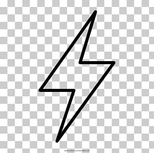 Drawing Thunder Halloween Costume Monochrome PNG