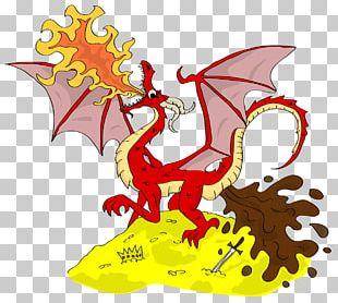 The Dragon Smaug Feces Shit PNG