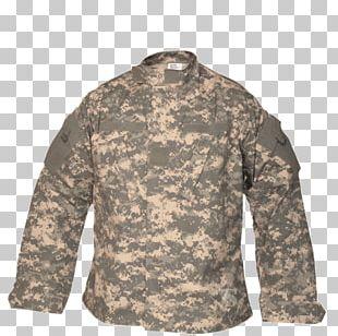 T-shirt Army Combat Uniform MultiCam Military PNG