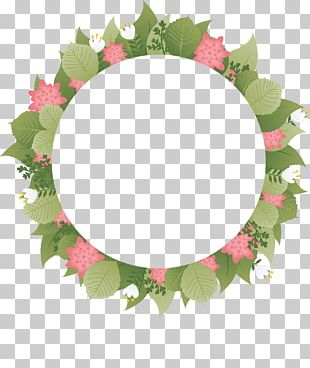 Flower Wreath PNG