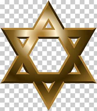 Star Of David Judaism Hexagram Symbol PNG