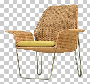 Eames Lounge Chair Chaise Longue Wicker Furniture PNG
