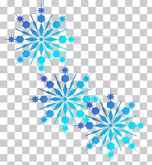 Green Snowflake Red PNG