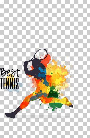 Tennis Player Sport Tennis Ball PNG
