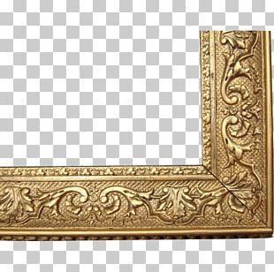 Frames Bed Frame Decorative Arts Antique PNG