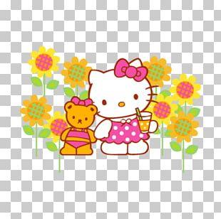 Hello Kitty Sanrio Logo PNG