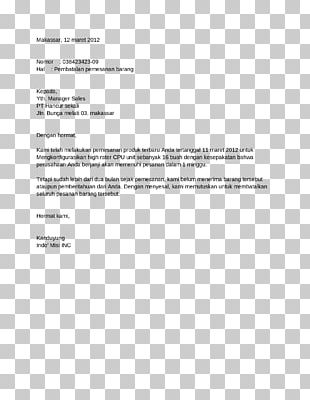 Job Interview Letter Of Thanks Template PNG